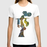 dancer T-shirts featuring dancer by Marie Elke Gebhardt