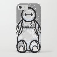 baymax iPhone & iPod Cases featuring Baymax by grapeloverarts