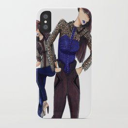 Assymetrical. iPhone Case