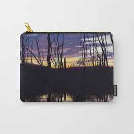 Fall Sunset in Northern Ontario Carry-All Pouch