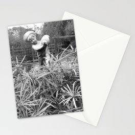 The water boy Stationery Cards