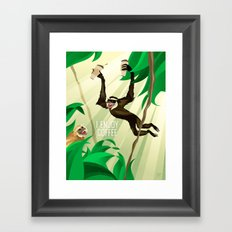 Gibbons Enjoy Coffee Framed Art Print