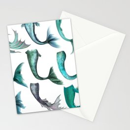 Mermaid Tails (Color) Stationery Cards