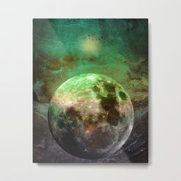 MOON under MAGIC SKY V Metal Print