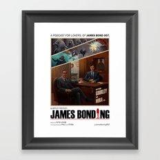 James Bonding Framed Art Print