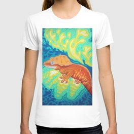 Red Crested Gecko T-shirt