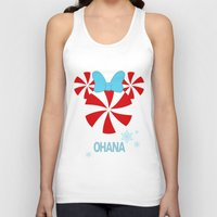 ohana Tank Tops featuring Ohana Minnie  by KaylaMessies