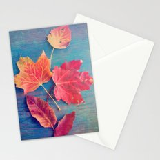 The Colors of Autumn Stationery Cards