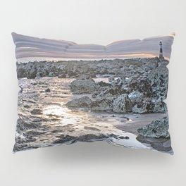 Sundown At The Lighthouse Pillow Sham