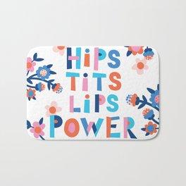 Hips Tits Lips Power Bath Mat