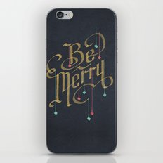 Be Merry iPhone & iPod Skin