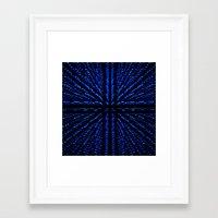 matrix Framed Art Prints featuring Matrix by Armin