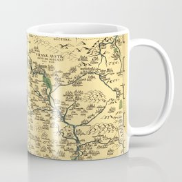 Map of Moravia 1569 Coffee Mug