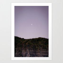 Half Moon in Muriwai Art Print