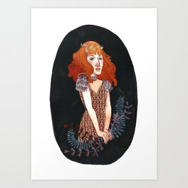 Strangeness and Charm Art Print