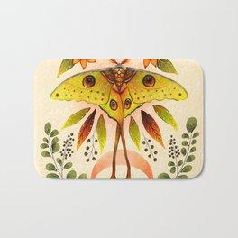 Moth Wings IV Bath Mat