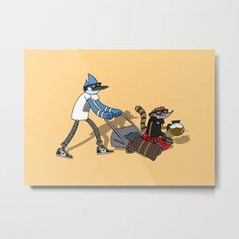Rigby & Mordecai Hypebeast Metal Print