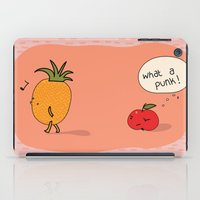 punk iPad Cases featuring Punk by Peach it!