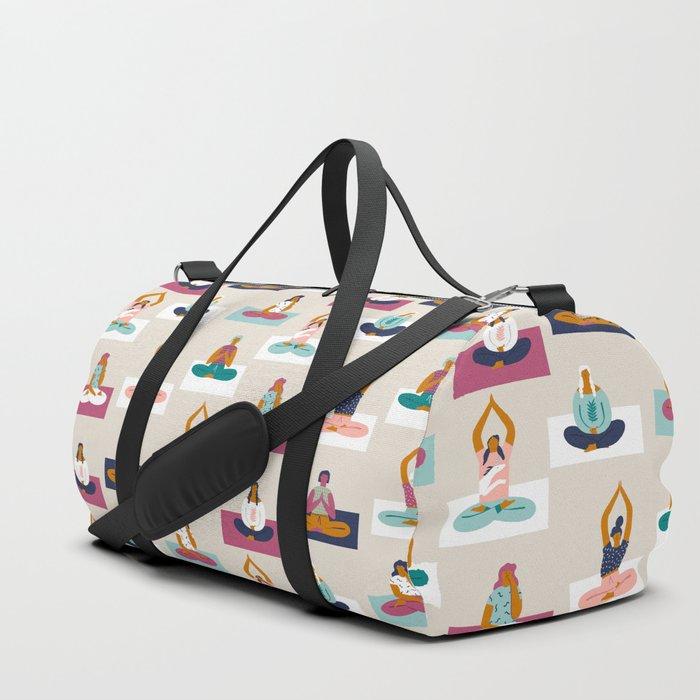 Morning yoga Duffle Bag