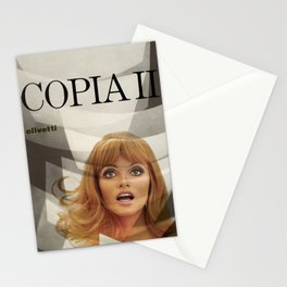 Plakat copia 2 olivetti  italy Stationery Cards