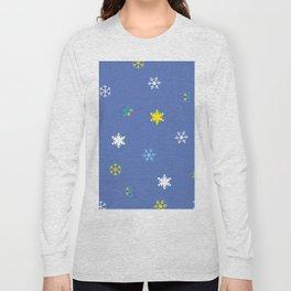Snowflakes_A Long Sleeve T-shirt