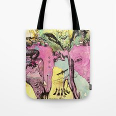 #102 Colombia, Vultures Everywhere Tote Bag