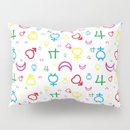 Sailor Moon - Texture Inner Senshi Pillow Sham