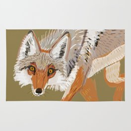 Totem Coyote Rug