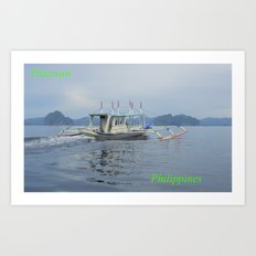 Palawan Island Philippines Art Print