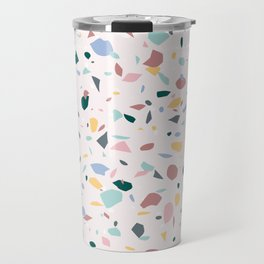 Colorful Terrazzo Travel Mug