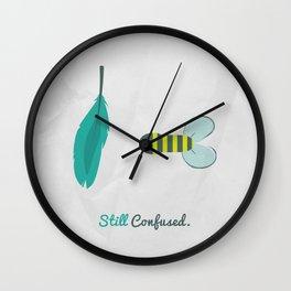 still confused Wall Clock