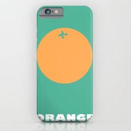 'Orange' iPhone Case