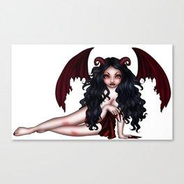 Dragon Mistress Canvas Print