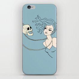 Skull and Chain iPhone Skin