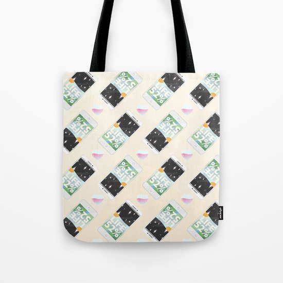 Charge Your Life Tote Bag