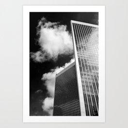 Century Plaza Towers Art Print