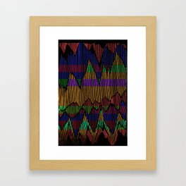 night time Framed Art Print