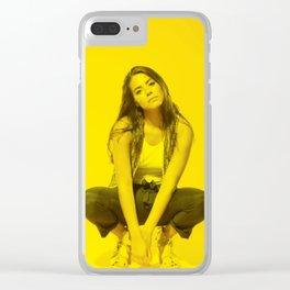 Lorenza Izzo - Celebrity (Photographic Art) Clear iPhone Case