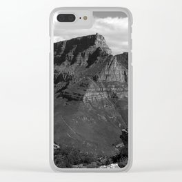 Table Mountain Cape Town South Africa Clear iPhone Case