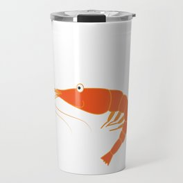 Best gift for person who loves seafoods, shrimp lovers, marines and fishers You're Shrimply the Best Travel Mug