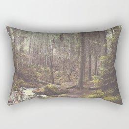 The paths we wander Rectangular Pillow