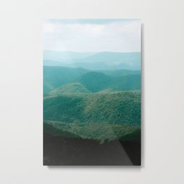Allegheny Layers Metal Print