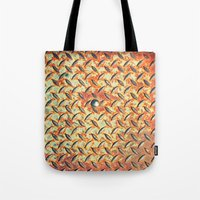 dot Tote Bags featuring Dot by Silvia Ganora