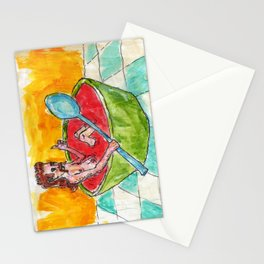 Mullet Head Tony Soup Stationery Cards