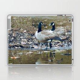 gossiping geese Laptop & iPad Skin