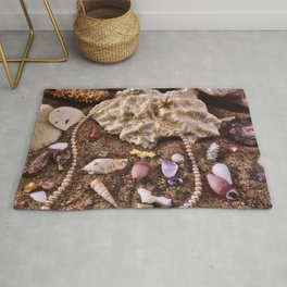 Pearls In The Sand Rug