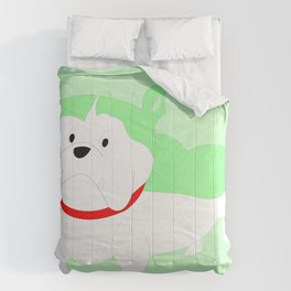 GREEN BILLY BULL DOG Comforters