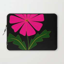 Big Pink Flower Laptop Sleeve