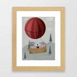 the littlest adventure Framed Art Print