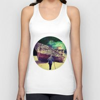 ship Tank Tops featuring Ship by Cs025